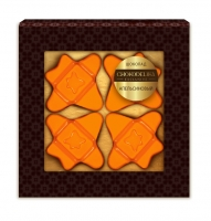 Шоколад Вкусовой Апельсиновый 40 г
