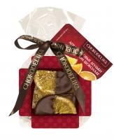 Конфеты Апельсиновые Дольки в темном шоколаде 42 г