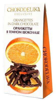 Конфеты Оранжетты в темном шоколаде 100 г