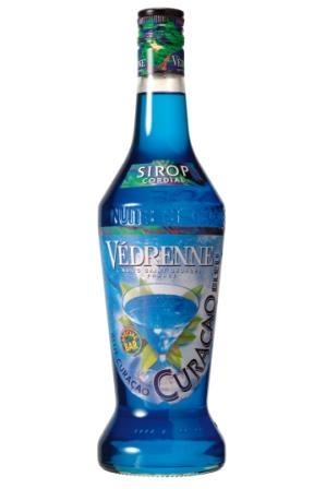 Сироп Vedrenne Blue Curasao 0,7 л