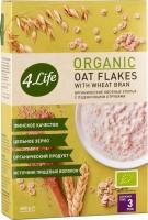 Хлопья 4Life органические овсяные с пшеничными отрубями 400 г
