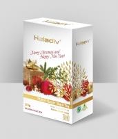 Черный чай листовой Heladiv Christmas Pekoe с новогодней символикой 100 г