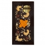 Chokodelika Шоколад тёмный с украшением кешью мармелад карамель 100 г