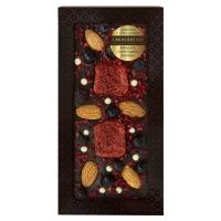 Chokodelika Шоколад с украшением миндаль смородина малина 100 г