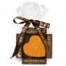 Chokodelika Конфета Сердце марципановое в апельсиновом шоколаде 30 г