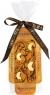 Chokodelika Шоколад белый узорный с апельсином и кешью в коробке 55 г