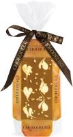 Chokodelika Шоколад молочный узорный с карамелью (на подложке) 55 г