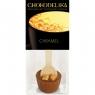 Chokodelika Шоколад молочный с украшением карамель (коктейль с ложкой) 50 г