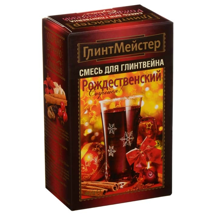 Набор для глинтвейна Глинтмейстер Рождественский 44 грамма