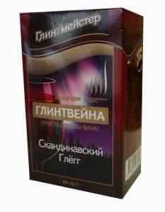 Набор для глинтвейна Глинтмейстер Скандинавский Глёгг 44 грамма