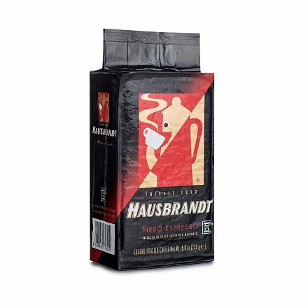 Кофе молотый Hausbrandt Неро для кофеварок Мока в вакуумной упаковке 250 г