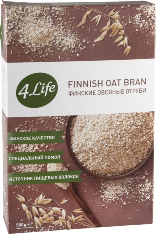 Отруби 4Life овсяные финские 500 г