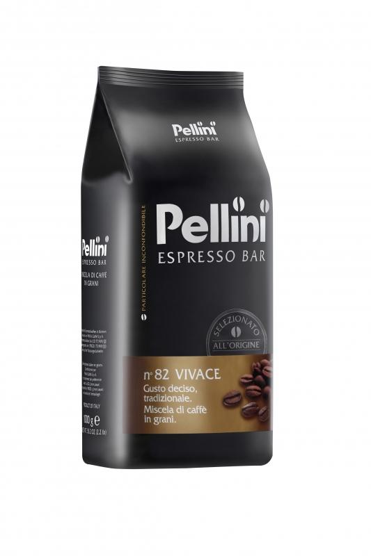 Кофе в зёрнах Pellini №82 Vivace 1 кг