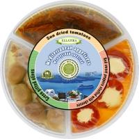 Тарелка средиземноморских закусок на 3 отсека Ellatika 250 г