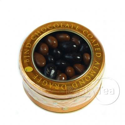 Драже Bind миндаль в шоколаде в жестяной коробке 125 грамм
