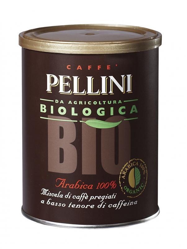 Кофе молотый Pellini BIO в банке 250 г