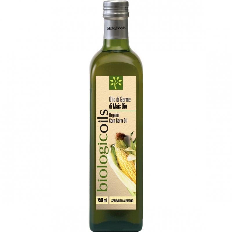 Масло BIOLOGICOILS из пророщенных зёрен кукурузы E.V. 750 мл