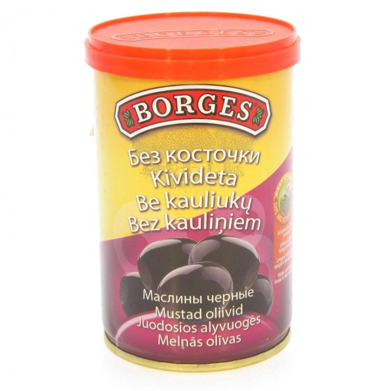 Маслины BORGES без косточек 280 грамм