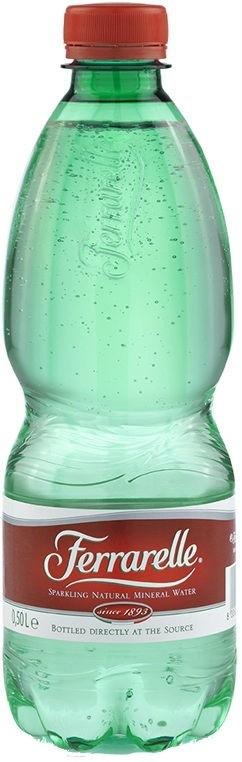 Вода Ferrarelle газированная минеральная 0,5 л