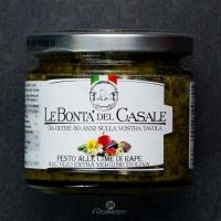 Песто Le Bonta из ботвы репы в оливковом масле 212грамм