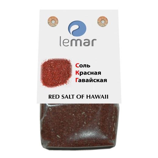 Соль LeMar красная Гавайская (ВУЛКАНИЧЕСКАЯ) 300 грамм