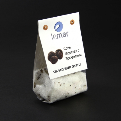 Соль LeMar морская с Трюфелем 200 грамм