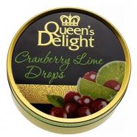 Леденцы Queen's Delight Клюква и лайм 150грамм