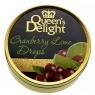 Леденцы Queen's Delight Клюква и лайм 150 грамм