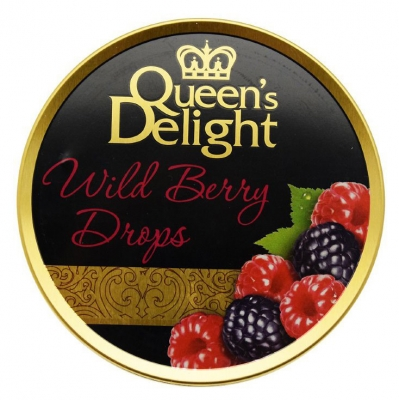 Леденцы Queen's Delight Лесные ягоды 150 грамм