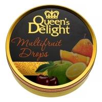 Леденцы Queen's Delight Мультифруктовые 150грамм