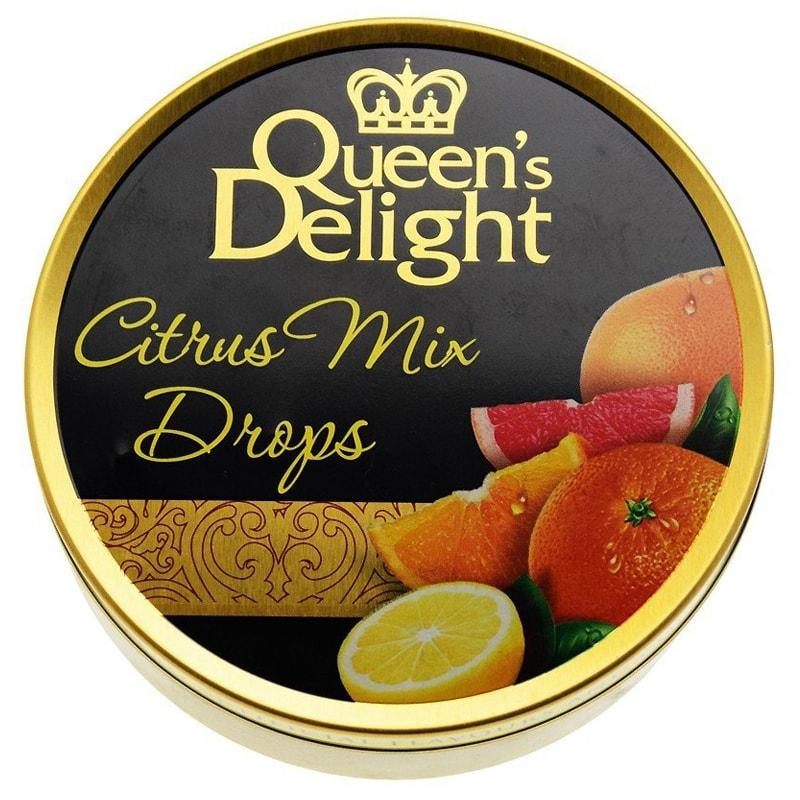 Леденцы Queen's Delight Цитрусовые фрукты 150 грамм