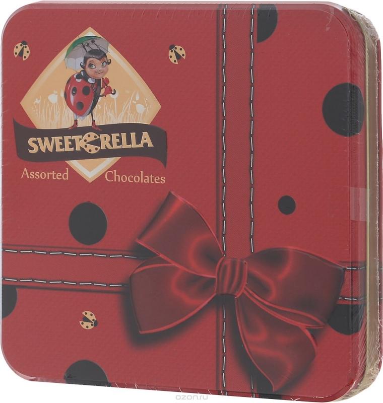 Конфеты Sweeterella Шоколадное ассорти Эксклюзив 193 грамма