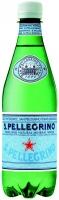 Вода San Pellegrino среднегазированная лечебно-столовая 0,5 л
