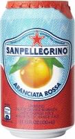 Лимонад San Pellegrino Aranciata Rossa (Красный Апельсин) газированный сокосодержащий 0,33 л