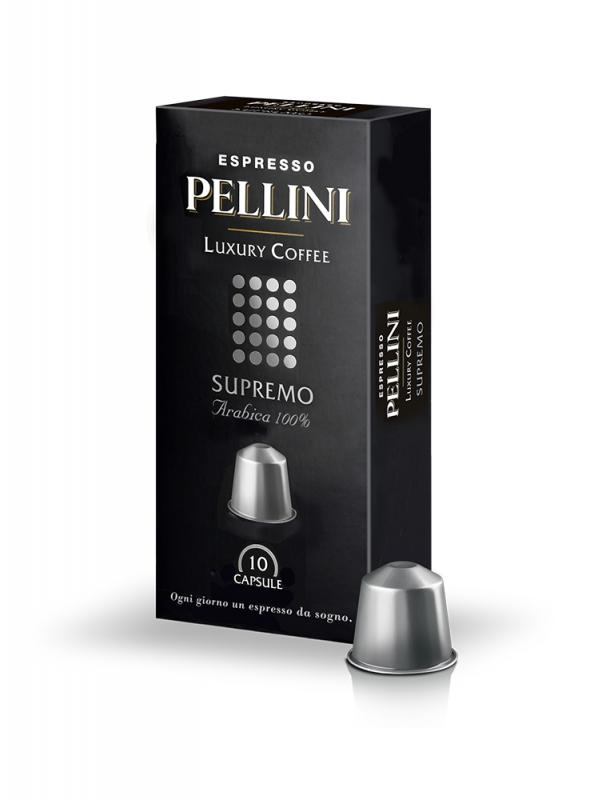 Кофе в капсулах POD Pellini Supremo 10 шт