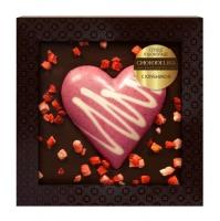 Chokodelika Сердце в шоколаде с клубникой в блистере 90 г