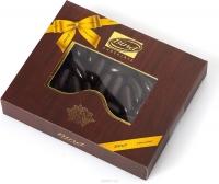 Шок. конфеты Bind Апельсиновая цедра покрытая темным шоколадом 200грамм