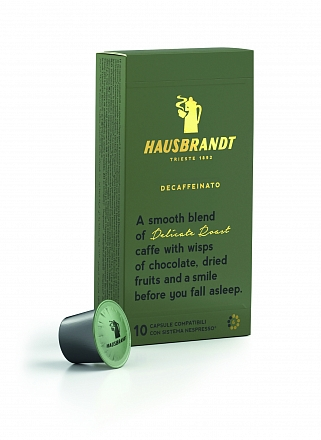 Кофе в капсулах Nespresso Decaffeinato Hausbrandt