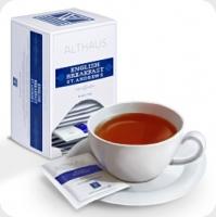 Чай черный Althaus Альтхаус Инглиш Брекфаст Сент Эндрюс пакетированный для чашки