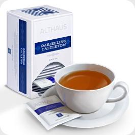 """Чай черный Althaus Альтхаус """"Дарджилинг Кастелтон"""" пакетированный для чашки"""