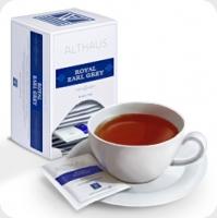 Чай черный Althaus Альтхаус Роял Эрл Грей пакетированный для чашки