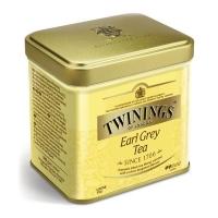 Чай Twinings черный листовой Эрл Грей 100гр