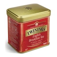 Чай Twinings черный листовой Английский завтрак 100гр