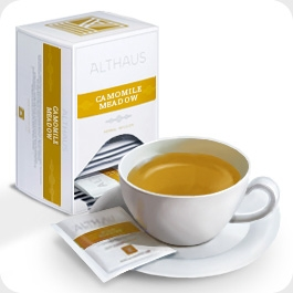 """Чай травяной Althaus Альтхаус """"Ромашковый Луг"""" пакетированный для чашки"""