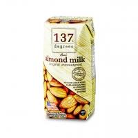 Миндальное молоко 137 Degrees без сахара 180 мл