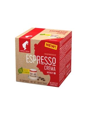 Кофе в капсулах Julius Meinl Эспрессо Крема системы Nespresso биоразлагаемые 10 шт