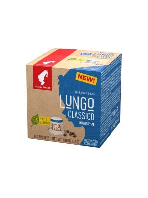 Кофе в капсулах Julius Meinl Лунго Классико системы Nespresso биоразлагаемые 10 шт