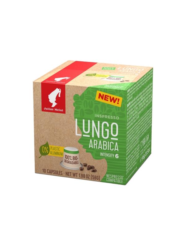 Кофе в капсулах Julius Meinl Лунго Арабика системы Nespresso биоразлагаемые 10 шт