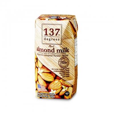 Миндальное молоко 137 Degrees с нектаром кокосовых соцветий без сахара 180 мл
