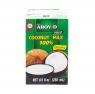 Кокосовое молоко AROY-D 100% натуральное 17-19% 250 мл